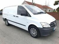 2014 14 MERCEDES-BENZ VITO 113 CDI BLUEEFFICIENCY 136 BHP 2.1 1 CO OWNER