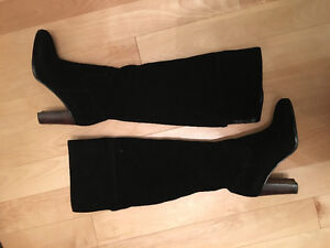 Brand New real suede knee-high boots size 7