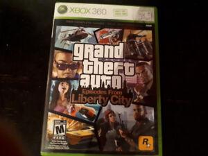 Jeux vidéo xbox 360 gta liberty city