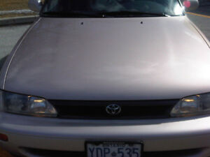 Mint Condition, Only 123,000 Kms 1995 Toyota Corolla, Certified!