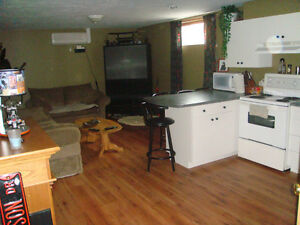 BASEMENT APARTMENT in Dieppe, available May 1st, 2016!!!