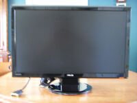 Asus VH242H 23.6-Inch Full-HD LCD Monitor with Integrated Speake