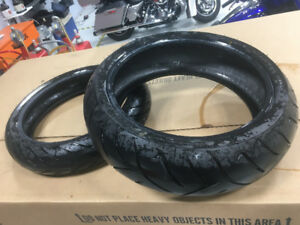 Dunlop Roadsmart motorcycle Tires front and rear like new