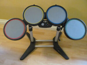 Rock Band Wired Drum Set for XBOX 360 Harmonix Model 822149