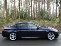 2012 12 BMW 525d 2.0TD (218 bhp) auto d M Sport..VERY HIGH SPEC..STUNNING !!