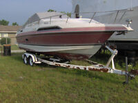 Must sell boat and tandem axle trailer