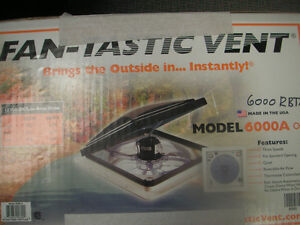 CLEAR OUT ON HIGH POWERED VENT FANS!!!!  FanMate Rain Cover for