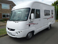 Rapido 924F A Class 4 Berth with End Kitchen 2. JTD Fiat Al-Ko Chassis. Awning