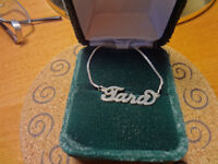 Sterling Silver TARA Necklace in new condition