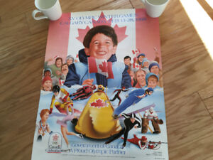 """Winter Olympics"" Calgary '88 (Large Promo Poster) ~ Only $5"