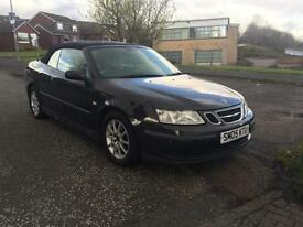 2005-05 Saab 9-3 2.0T autoAero Convertible Cabriolet Full Leather Interior