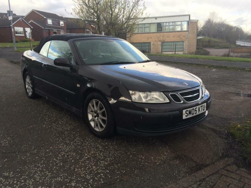 2005 05 Saab 9 3 2 0t Auto Convertible Cabriolet Full Leather Interior