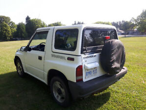 1998 Chevy Tracker