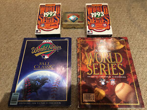 Toronto Blue Jays 92-93 World Series Memorabilia Package