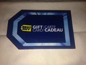Bestbuy Gift Card - 100$ you pay 90$ - Will meet at Bestbuy