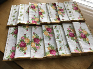 Old Country Roses Cloth Napkins