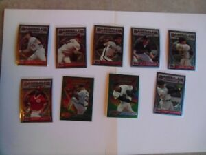 1993-Topps-Baseball's Finest Various Star Players Cards.
