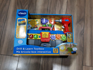 Vtech Drill & Learn Toolbox - English version