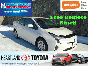 2016 Toyota Prius Upgrade Package Sedan