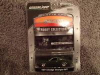 1:64 SCALE DIE-CAST Greenlight MCG 1971 Dodge Charger R/T -