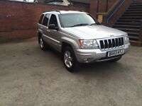 Beautiful jeep grand cherokee 53 plate 2.7 crd