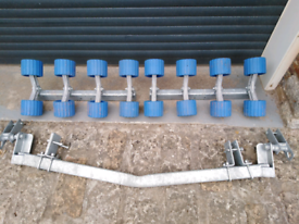Boat Trailer Parts - Swing Beam with Roller Assemblies