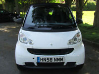2008 Smart Fortwo 1.0 MHD Pure Coupe**SEMI-AUTO**ONLY £20 TAX**FSH**72MPG**