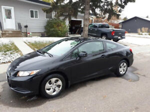 2013 Honda civic Coupe with 2 years warranty remaining