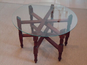 Small coffee table or a side table.