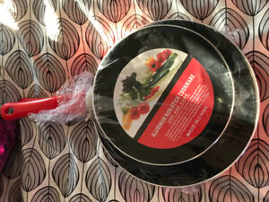 Brand new small frying pans - $5.00