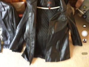 Danier size med ladies walking winter  jacket ,hood all lined ,.