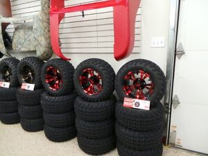 GOLF CART 12INCH LOW PROFILE WHEEL AND TIRE PACKAGE Belleville Belleville Area image 6