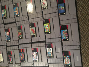 Snes and 71 games