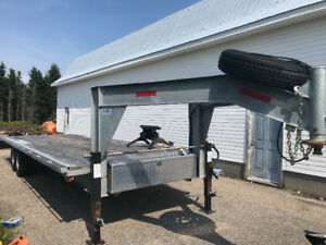 New galvanized trailer