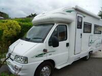 Autocruise Starspirit Coachbuilt Motorhome 2 berth 2 belt Rear lounge