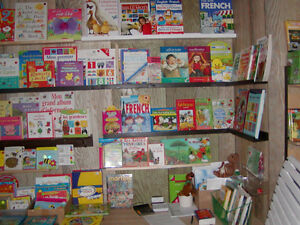 FRENCH BOOKS - 1000'S FOR CHILDREN 3 MONTHS TO 12 YEARS OLD