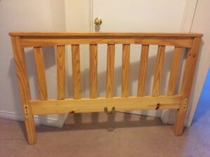 Solid Pine Bed Frame-Double/Full Size