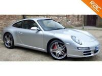 2006 56 PORSCHE 911 3.8 CARRERA 2 S 2D 355 BHP HUGE SPEC! 19 ALLOYS+NAV ETC!