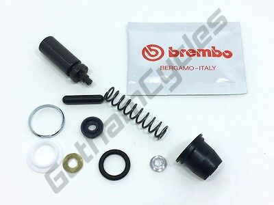 Ducati Brembo 12mm Front Brake / Clutch Master Cylinder REM REC Seal Repair Kit