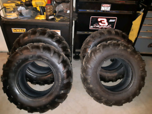 4 ATV Tires off 700 GRIZZLY like new!