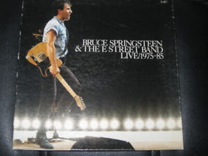 BRUCE SPRINGSTEEN-THE E STREET BAND LIVE 75-85 BOX 3LP