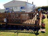 FOR HIRE; Static Caravan @ Fontygary Leisure Park