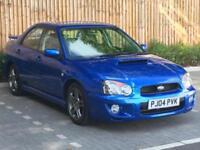 2004 Subaru Impreza 2.0 WRX SL, PRODRIVE PACK , 265 BHP, 4 Door Saloon, Petrol.