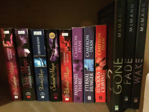 Variety of Paranormal romance $5/ea in Kelowna