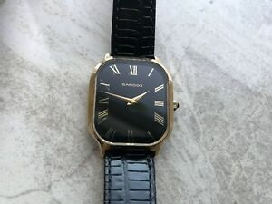 IMMACULATE VINTAGE SWISS MADE SANDOZ MEN'S WRIST WATCH
