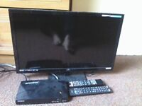"ALBA LED TV 24"" AND OPEN BOX V8S FOR SALE"