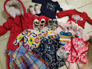 Baby girl clothes: birth to 12 months