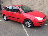 Ford Focus zetec, full years mot,