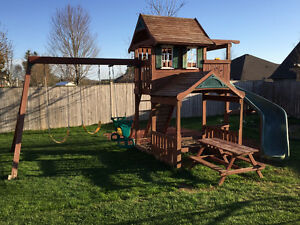 Swingset / Playset with Slide for Sale
