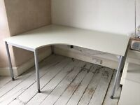2 LARGE CURVED DESKS; £60 each or £110 for pair